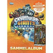 New Topps Skylanders Giants Trading Card Binder Starter Pack