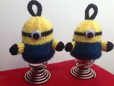 Buy girls easter crocheting knitting patterns ebay minions egg cosies knitting pattern birthday present gift easter egg negle Gallery