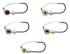 Z-Man Weedless Eye Jigheads 3 pack, Bass, Redfish Weedless Fishing Zman Jig Head