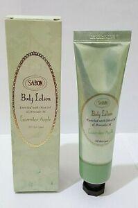 SABON Body Lotion LAVENDER APPLE Scent SLS Free Paraben Free 50ml 1.66fl.oz