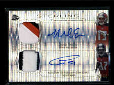 EVANS/ SEFFERIAN-JENKINS 2014 STERLING REFRACTOR DUAL AUTO PATCH #/44 AB7208
