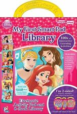 Disney Princess My First Smart Activity Pad Library 8 Interactive Books Kid Toy1