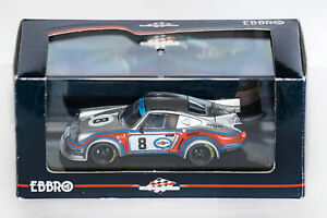 EBBRO ,1:43, PORSCHE 911 RSR TURBO, #8, MARTINI, 1000 Km NURBURGRING 1974