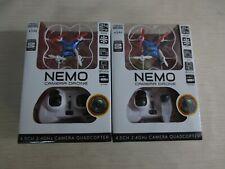 Nemo 2.4GHz 4.5-Channel Camera R/C Spy Drone - 2 BOXES