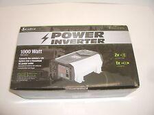 COBRA CPI1090 COMPACT 1000W CONT 2000W SURGE 12VDC BATTERY AC POWER INVERTER
