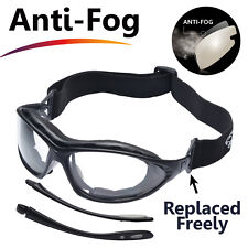SAFEYEAR Safety Glasses Lab Work Protective Anti-scratch Eye Protection Goggles