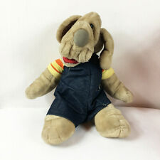 """A124 Vintage Ganz Wrinkles Puppy Dog Puppet Plush 15"""" Stuffed Toy Lovey"""