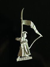 Warhammer Lord of The Rings LOTR - High Elf Standard Bearer Metal OOP