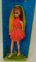 "Vintage Topper 1969 Dawn's Friend Glori Red Mini Dress Fashion Show 6"" Doll"