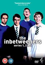 THE INBETWEENERS - SERIES 1 TO 3 - DVD - REGION 2 UK