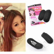 2x Hair Volume Increase Sponge Invisible Pad Bump Foam Puff Insert Base Clips