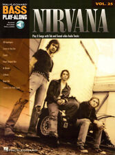 Nirvana Bass Play-Along Noten Tab mit Download Code