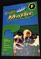 RIC Publications NEW WAVE MATHS - Workbook F  Ages 10-11 Years - FULL COLOUR