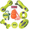 KONG Airdog Squeak Ball Air Dog Rope Fetch Stick Football Dumbell Aqua Water