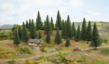 NOCH HO SCALE ~ FIR TREE SET ~ 25 PIECES # 26830