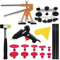 Car Paintless Dent Puller Lifter Hammer Bridge Hail Removal Glue Gun Tools Kits