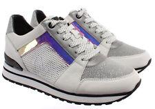 Zapatillas para mujer 43 R 0 Michael Kors bifs 1L Blanco Billie Cuero Tela