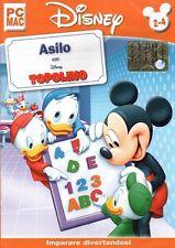 Disney - Asilo con Topolino PC Cd-rom