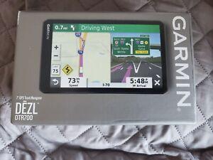 """Garmin dezl otr 700 7"""" touch screen truckers GPS Brand new in the original box."""