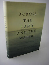 1st/1st Printing ACROSS LAND AND WATER W.G. Sebald POETRY Classic POEMS