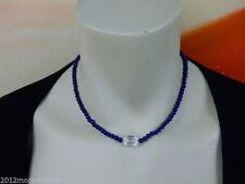 Echte Edelstein-halsketten mit Bergkristall und Besondere Anlässe