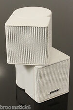 1x Near MINT Bose Acoustimass Jewel Cube Speaker (White)