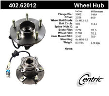 Axle Bearing and Hub Assembly-Premium Hubs Rear Centric 402.62012
