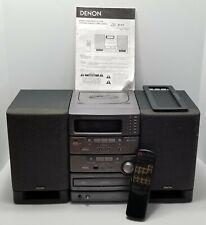 Denon D-C1 Micro Component HiFi Audio System 6 CD, AM/FM, Cassette with Remote