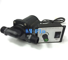 HSH-Flo DC Water Pump 12V 3 Phase Hot Water Booster Pump 3000L/H Amphibious