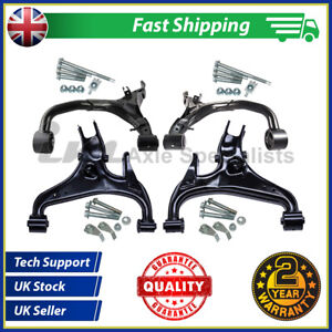 Fits Range Rover Sport Complete Rear Upper+Lower Arms Kit +Fitting Kits