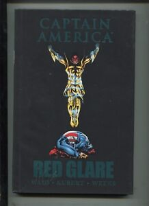 CAPTAIN AMERICA : RED GLARE Vol 1 - Showdown with the Red Skull! - (VF) 2011 HC