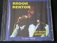 Brook Benton - A Rainy Night In Georgia (NEW CD 2009) IT'S JUST A MATTER OF TIME