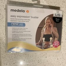 Easy Expression Bustier Hands Free Breastmilk Pumping Bra by Medela Large