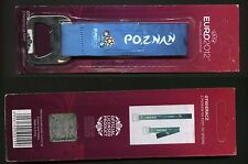 UEFA FOOTBALL EURO 2012 - bottle opener for beer LICENSED PRODUCT (4) Poznań