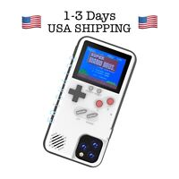 iPhone 11 Pro Max Retro HD Color Game Boy Rechargeable Phone Case Real Playable