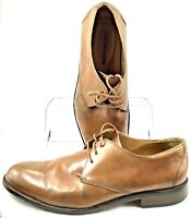 Johnston Murphy Hartley Oxford Men's Sz 12 M Brown Lace Up Plain Toe Dress Shoes