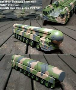 1/72? 1/64? DongFeng 41 CSS-X-10 Intercontinental Ballistic Missile truck no box