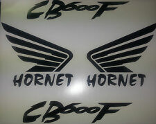 HONDA HORNET WINGS CB600F WITHOUT SHADOW TANK FAIRING DECAL STICKERS SET