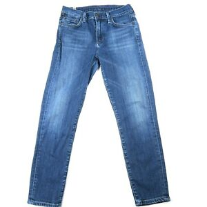 Citizens of Humanity Size 26 Rocket Crop Jeans High Rise Skinny Medium Wash