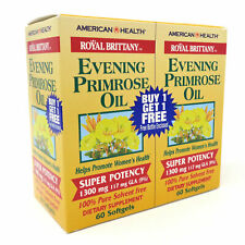 American Health Evening Primrose Oil 1300 mg - 2 X 60 Softgels