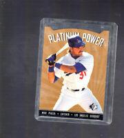 1995 Upper Deck SP Diecut MIKE PIAZZA PLATINUM POWER DIE-CUT #PP6 LA Dodgers