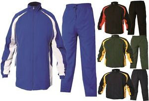 Kids jogging Bottoms Tracksuit Top Childs Silky jog Casual Joggers Trackies 3-14