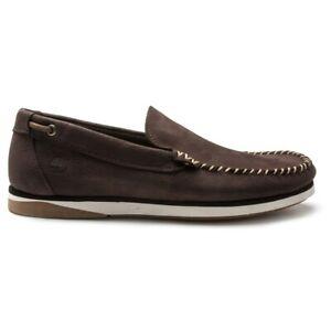 TIMBERLAND Mens Atlantis Break Venetian Boat Shoes Brown
