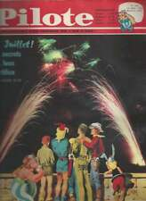 JOURNAL PILOTE N°142 . 1962 + PILOTORAMA . 14 JUILLET .