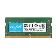 Crucial 8GB 1RX8 PC4-21300S PC4-2666V DDR4-2666Mhz 260pin Laptop RAM SO-DIMM @ES