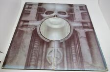 Emerson Lake and Palmer Brain Salad Surgery MC6669 LP 33 RPM Record with Poster