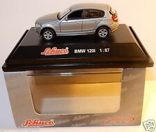 MICRO METAL DIE CAST SCHUCO HO 1/87 BMW 120 I GRIS CLAIR IN BOX
