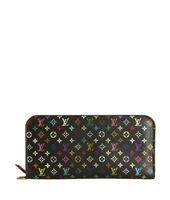 Louis Vuitton Insolite Black Multicolore Monogram Wallet