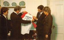 Boston Red Sox Carl Yastrzemski President Jimmy Carter 3000th Hit  Carol Lee