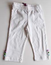 Bondi Girls Capri Leggings gr. 116 weiß